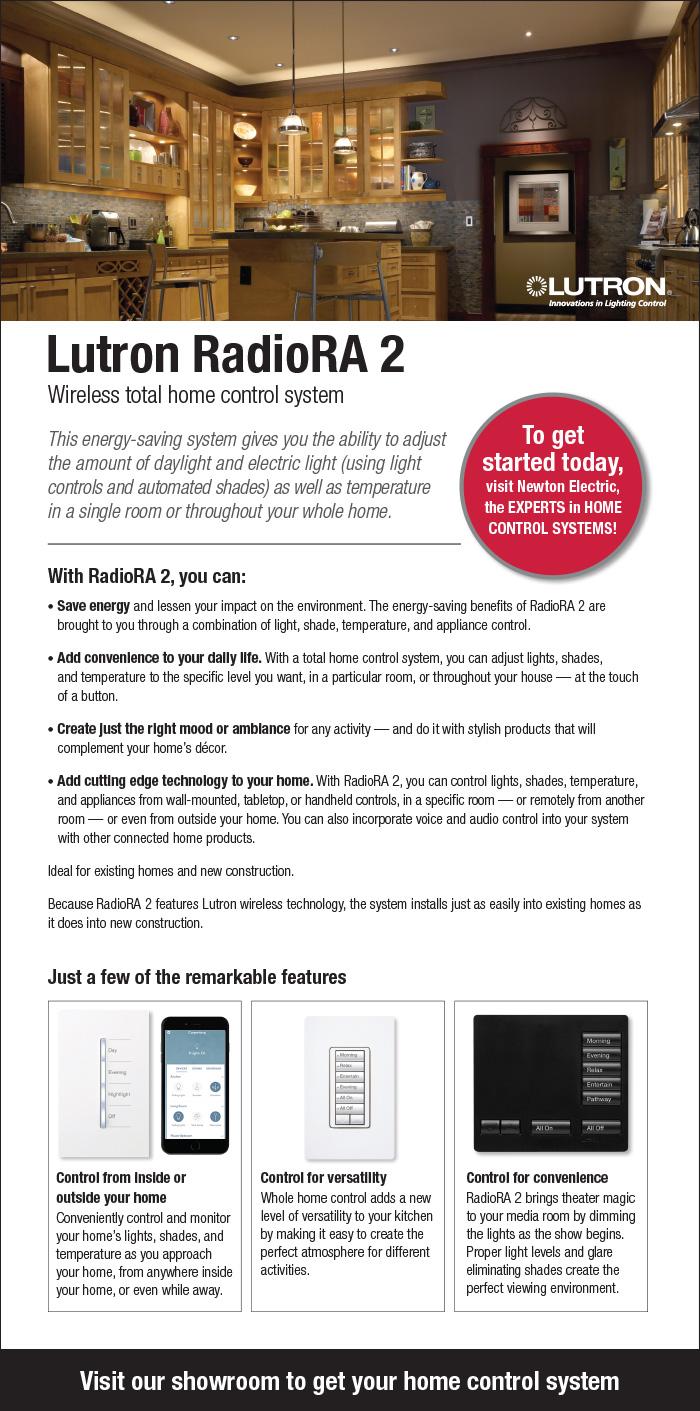 Lutron RadioRa – Newton Electrical Supply